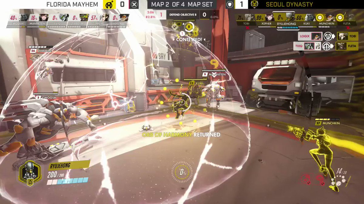 Deadly precision coming from Ryujehong's...