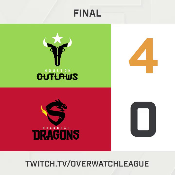 The @OutlawsOW with a dominant performan...