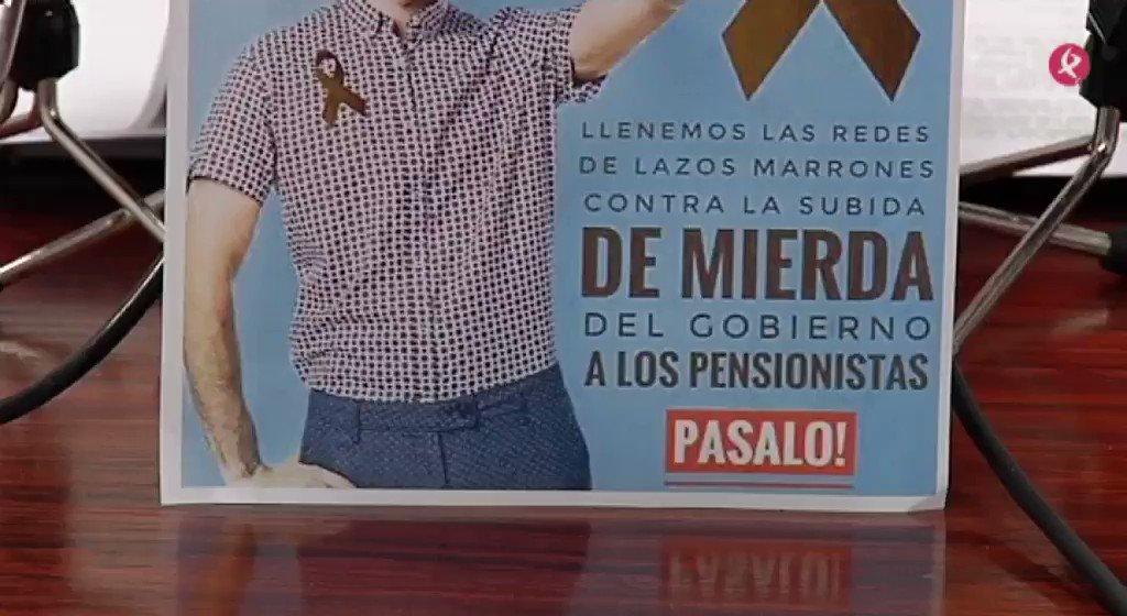 AVANCE | También @UGTExtremadura se moviliza por unas #PensionesDignas. Ha lanzado su campaña #lazomarrónporpensionesdignas en #Mérida para reivindicar su mejora. Lo contamos en #EXN1📺 https://t.co/FPuzM8EFbM