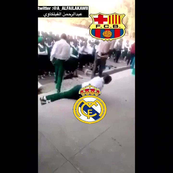 ملخص أخر مباراة كلاسيكو بين برشلونة و ري...