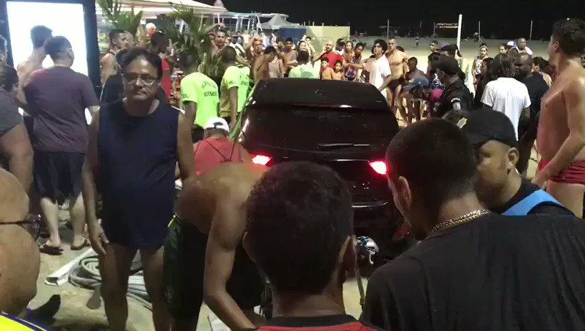 Atropello masivo en la playa de Copacabana, Brasil deja mínimo 15 heridos