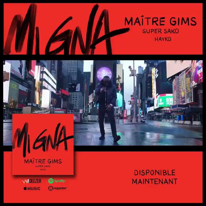 Le Clip #MiGna disponible ! 😎 #YouTube #CeintureNoire 🇦🇲🇦🇲 👉🏾https://t.co/26A1r37HeP https://t.co/h8ZBXKenhP