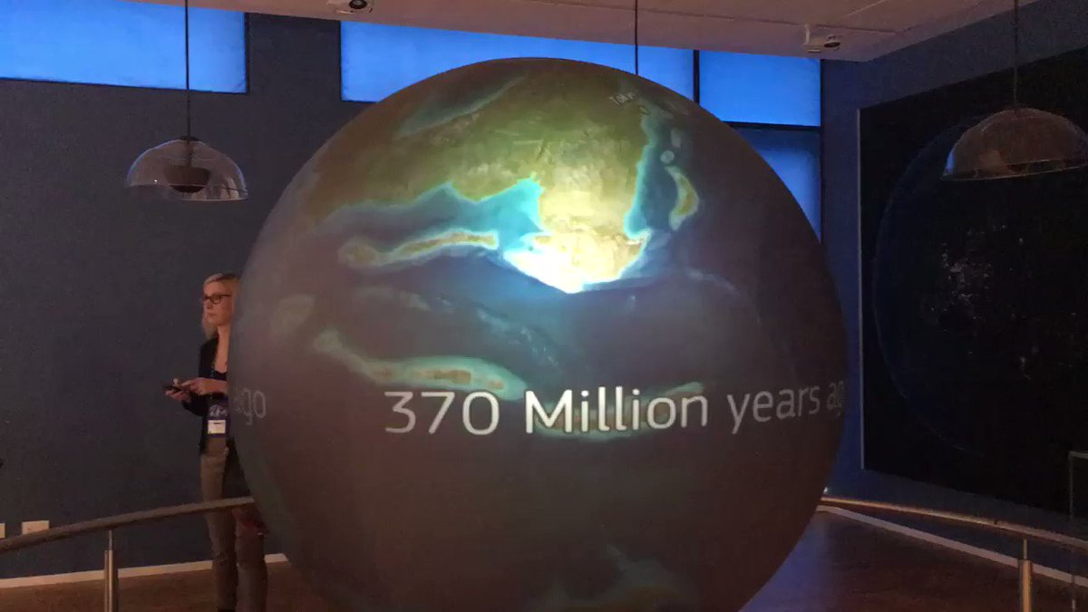 RT @dteyssou: Great animation @EU_ScienceHub visitor center on World continent drift till present. https://t.co/oANEOpfqFP
