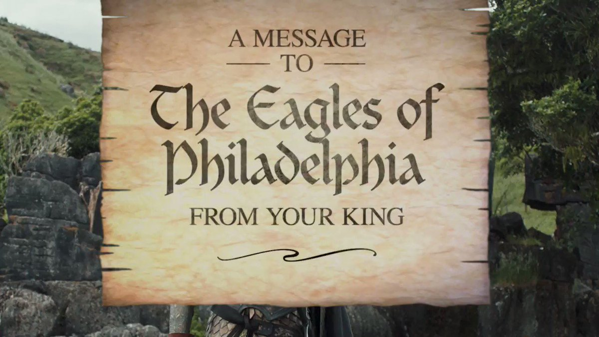 PHILLY PHILLY! Bud Light has a little message for #Eagles fans: #PhillyPhilly. They say if the @Eagles win the #SuperBowl the party is on them. #FlyEaglesFly cbsloc.al/2DrhoKE