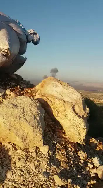 The Turkish air force bombed the YPG's observation points and positions in the Jalma in the south of Afrin