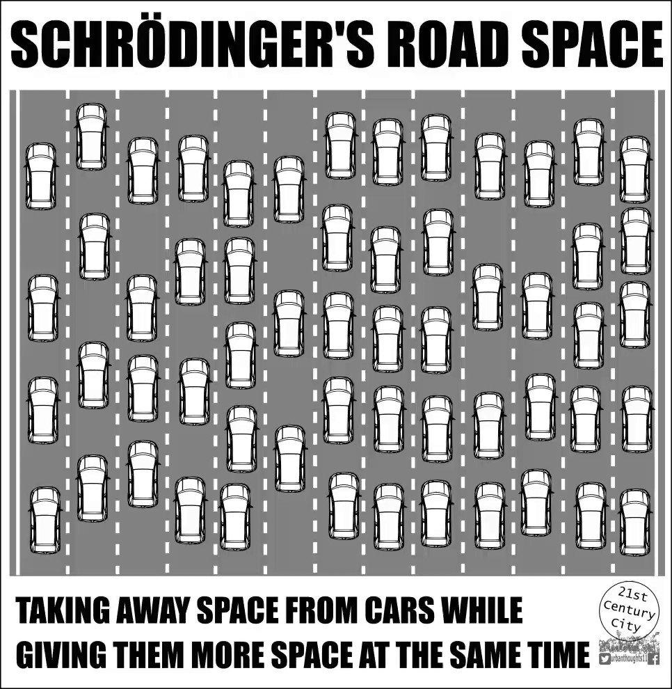 Yol yaparak çözemezsiniz! Kaynak :@urbanthoughts11