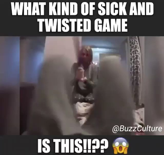 RT @BuzzCulture: What Kind Of Sick & Twisted Game Is This!!??  #WeekendFun #Funny #GameTime #FunTimes https://t.co/ay6p8sSiTp