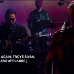 RT @girImeetstroye: #TroyeOnSNL here's @troyesivan...