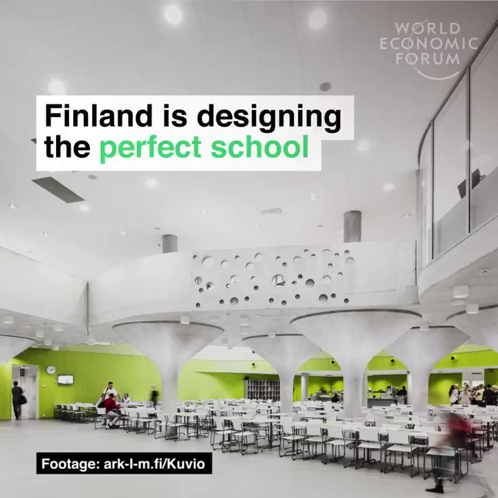 Here's how Finland is designing the perfect school 🇫🇮