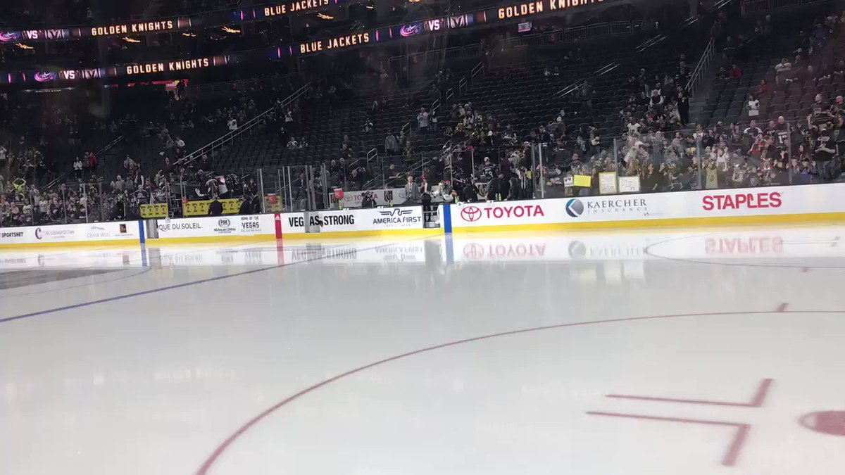 RT @GoldenKnights: HERE WE COME TO SAVE THE DAAAAAAAAY!!!! https://t.co/1SI3xVqcth
