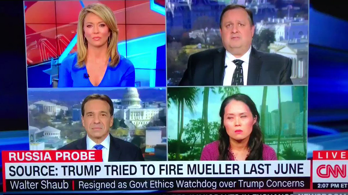 RT @JKinFL: Attorney Elizabeth Beck wasn't having it today on CNN with Brooke Baldwin #cnn #trump #MuellerTime https://t.co/sZG3EUnOhP