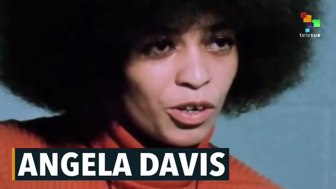 Happy Birthday, Angela Davis! Davis, a living revolutionary, has been fighting for justice for 74 years!