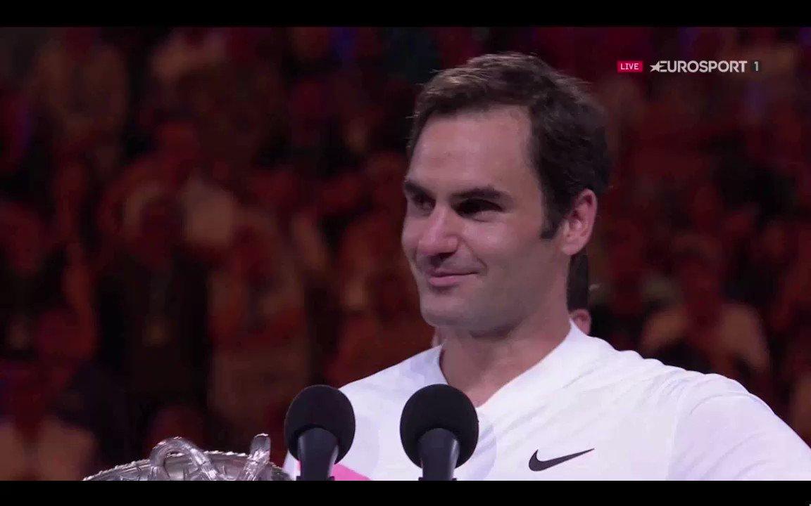 Vingtième Grand Chelem pour #Federer, qu...