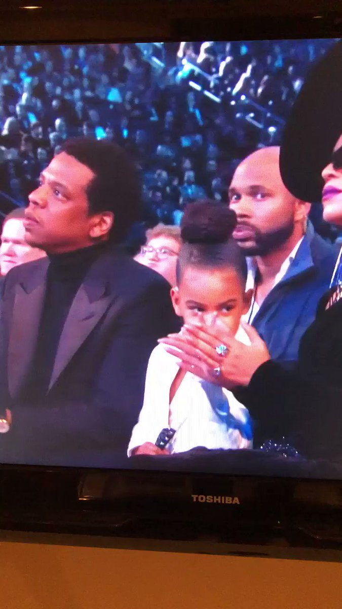 Blue Ivy had the best seat at the Grammys