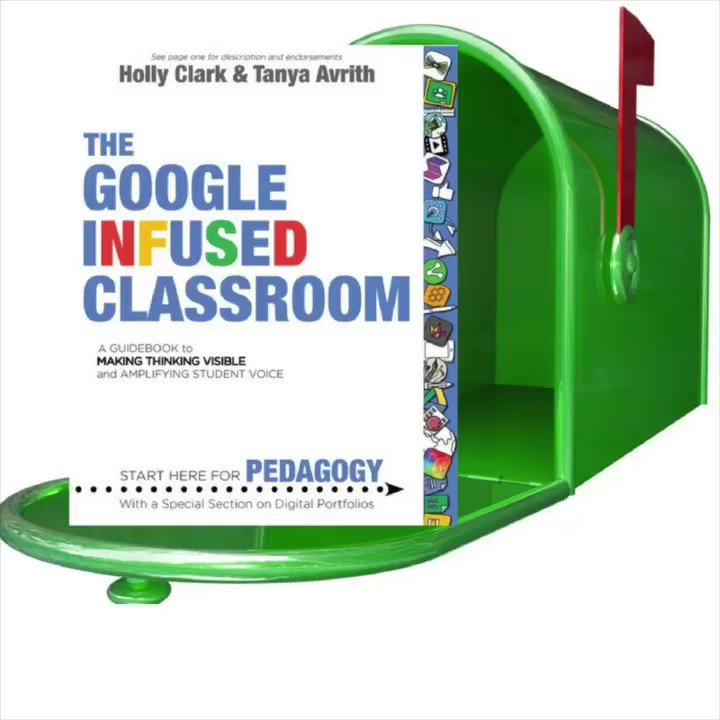 In case you haven't seen The Google Infused Classroom in action #edubooks #infusedclassroom