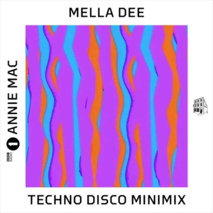 RT @MellaDee_: TONIGHT 🔥 Techno Disco Minimix for @AnnieMac on @BBCR1 @R1Dance from 7pm: https://t.co/cW4wam3nNQ https://t.co/60kGofekgx