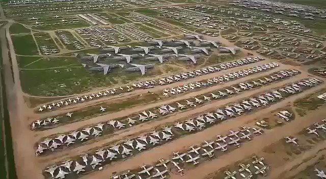 """Cimetiere Avion Usa stéphane fort on twitter: """"le plus grand cimetière d'avions au monde"""