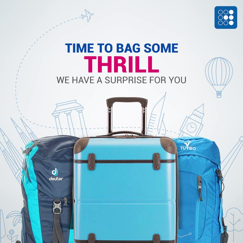 The thrill is going to be a bagful! Stay tuned for a big surprise!