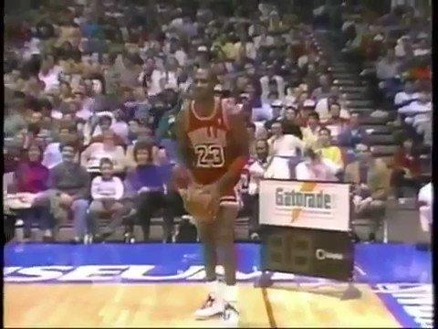 Il y a 30 ans jour pour jour, Jordan est...