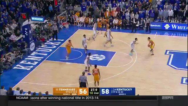 Throwback to last season when Lamonte Turner broke the hearts of every Kentucky fan.🍊