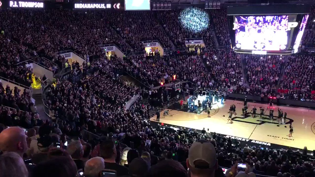 The most electric atmosphere in college...