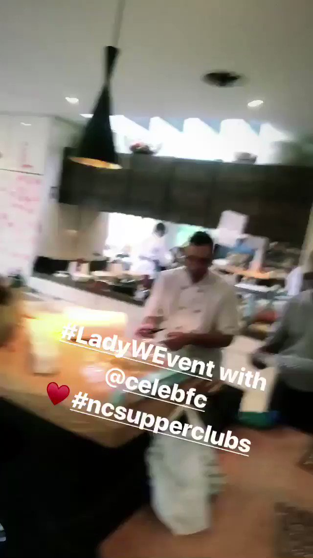 Are you ready? #LadyWEvent with @Celeb_FC! Sharing ♥️ with @wguild. It's #NCSupperClubs