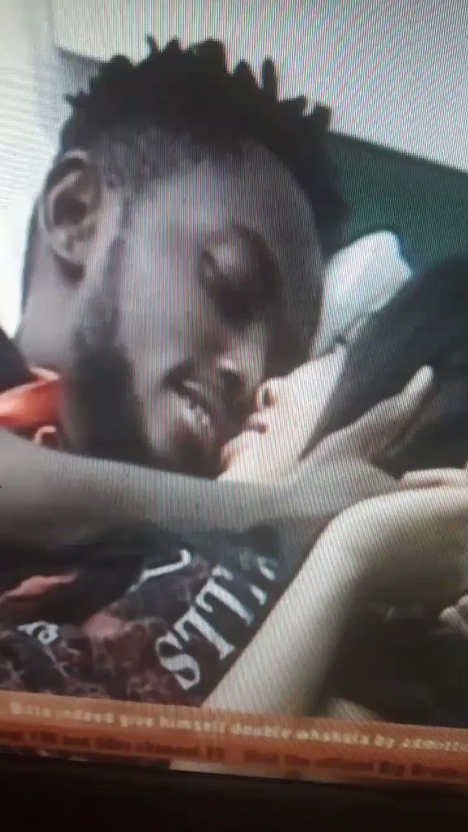 My loves 😍😍 Miracle tricks Nina into kissing him. #BBNaija