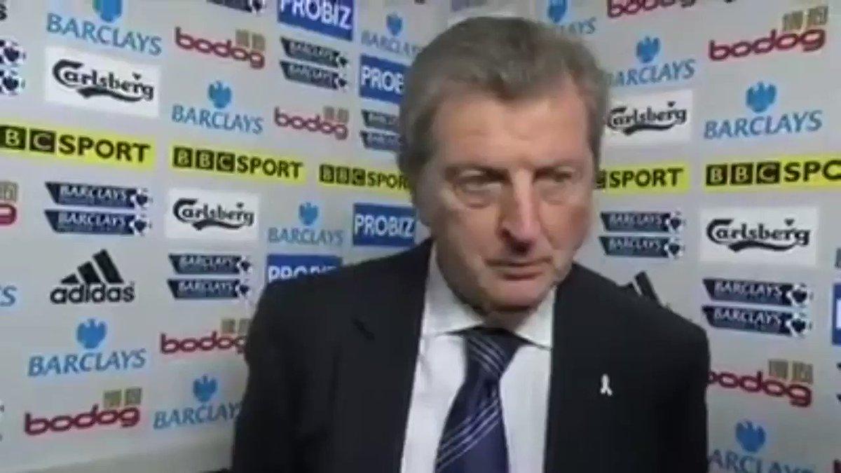 Blimey. Never seen Roy Hodgson like this...