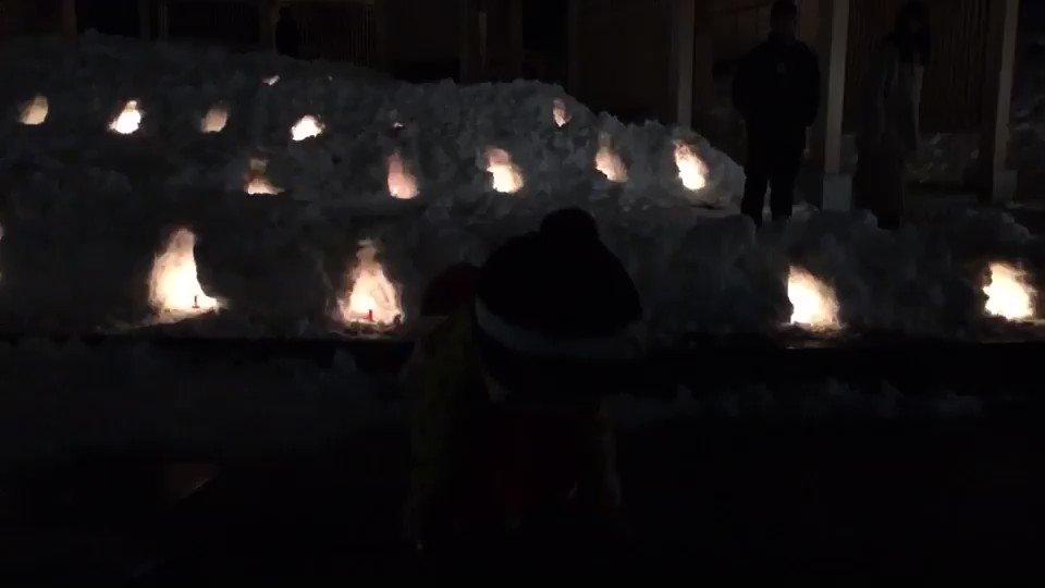 人 生 は じ め て の 💛  #ヲタ芸 #チャレンジ #草津温泉 #キャンドルの灯りの前で♪