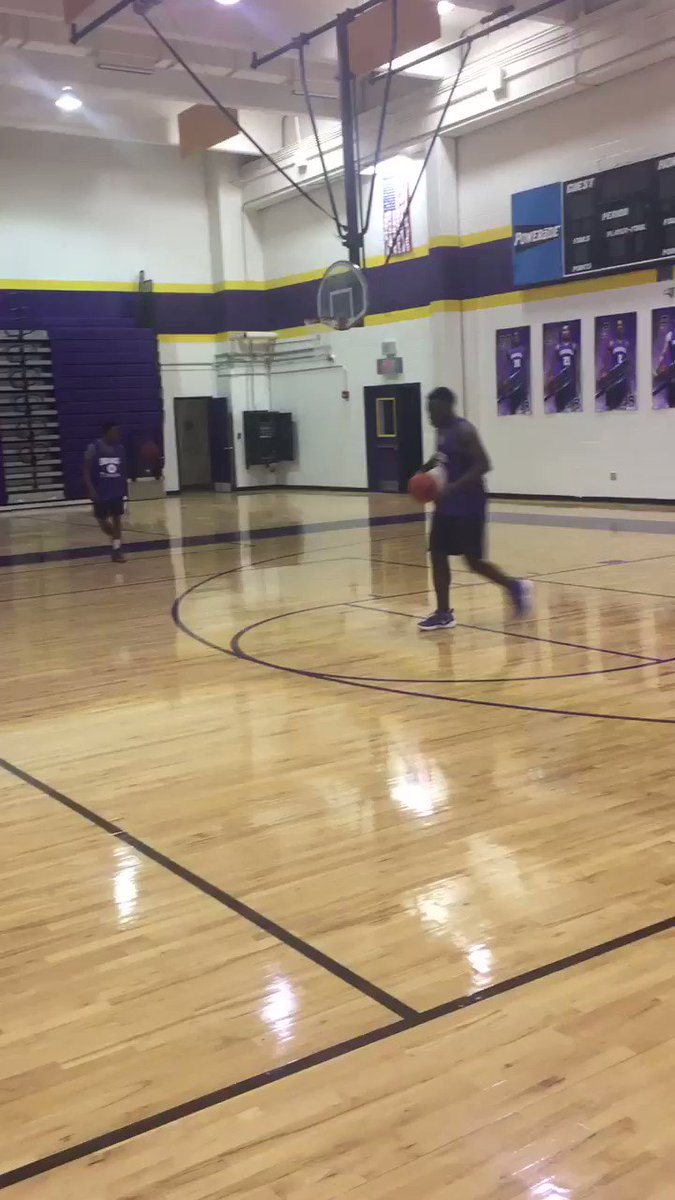 Pre Practice Shoot around Getting ready...