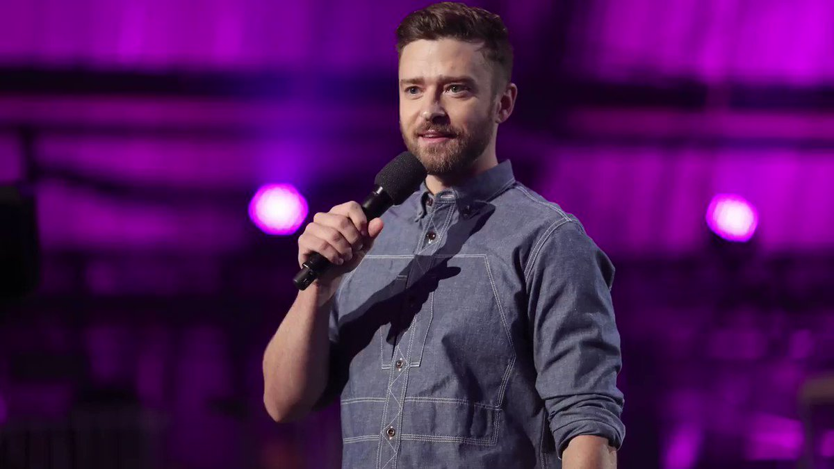 Justin timberlake — can not stop the feeling.