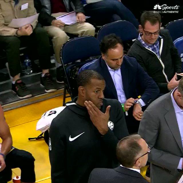Warriors on NBCS's photo on Kerr