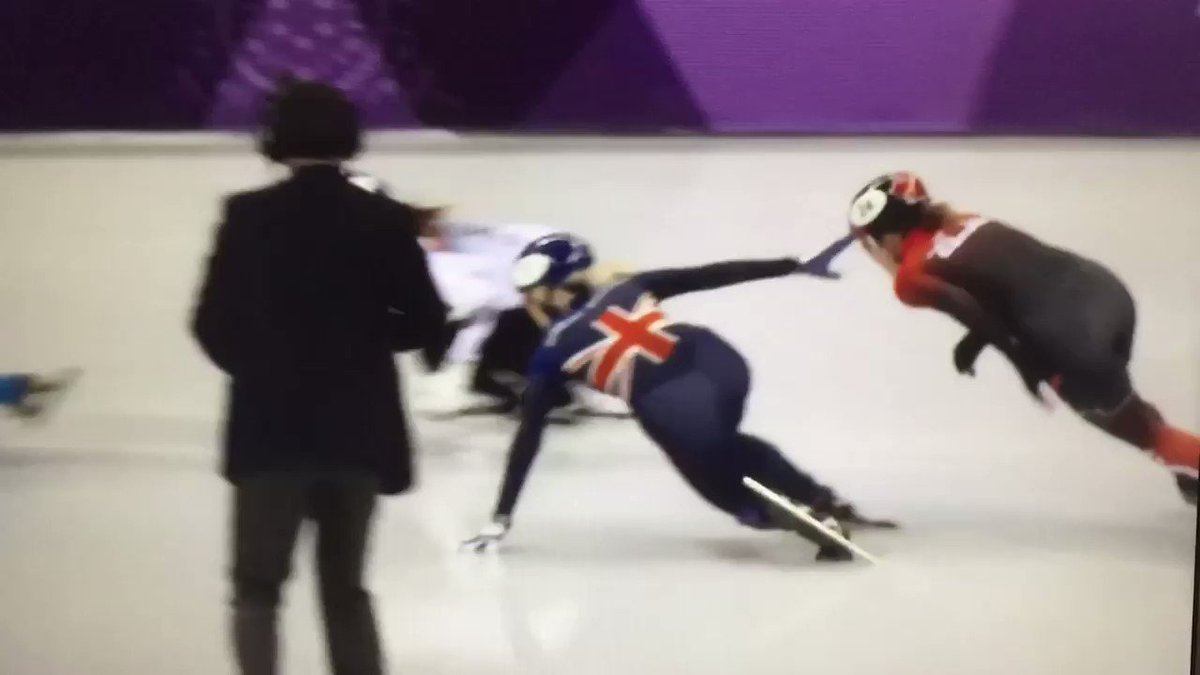 @TeamGB @Elise_Christie How did they not see this?!?