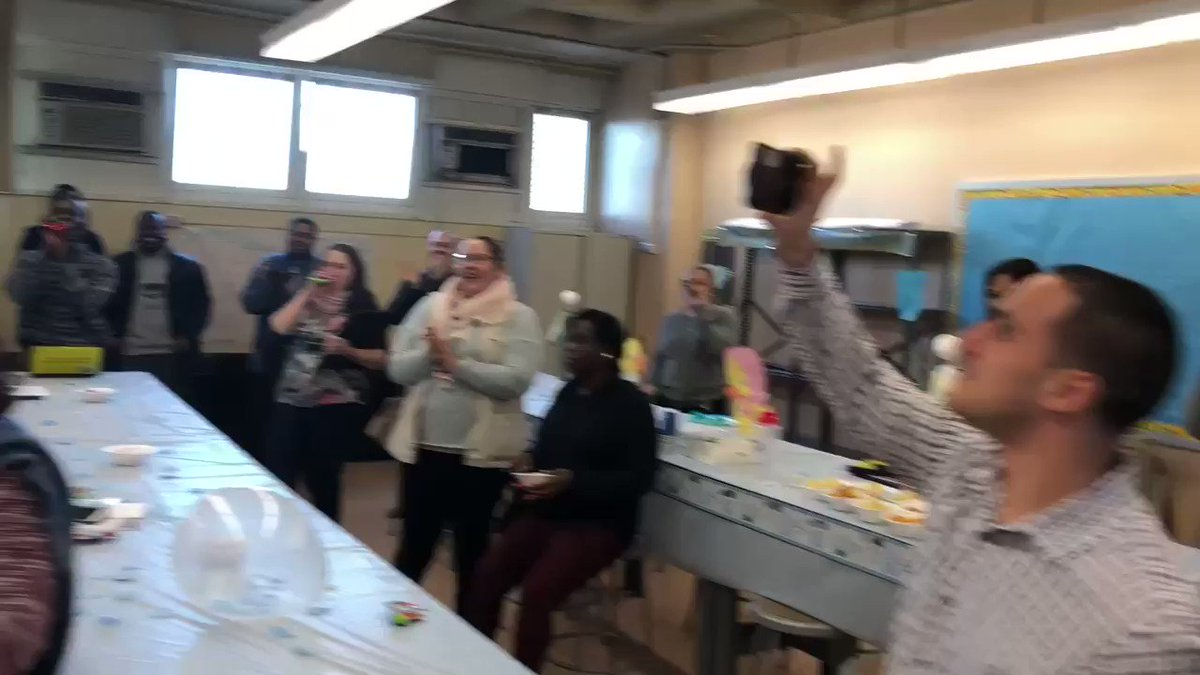 MSTA Celebrating Our Parent Coordinator Nate Medina... Congratulations to you and your family. It's a boy! @CSD12Bronx