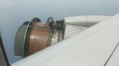 M3FNUPSRQxHy1avy?format=jpg&name=240x240 - Avião faz pouso de emergência após turbina se desintegrar no ar