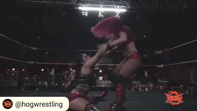Recap of me vs Sonya Strong @HOGwrestling 👊 #womenswrestling