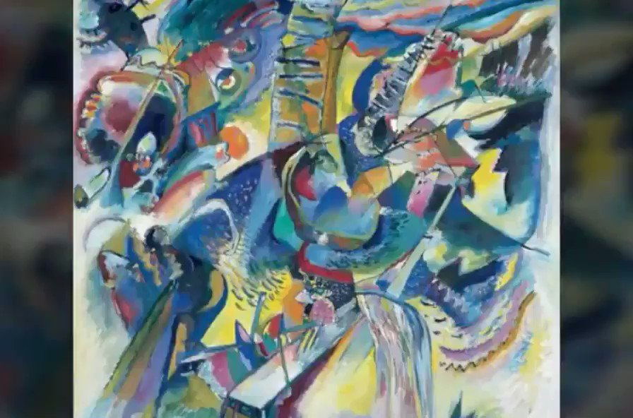 Wassily Kandinsky: There is no must in art because art is free./Lend your ears to music, open your eyes to painting, and...stop thinking! Just ask yourself whether the work has enabled you to 'walk about' into a hitherto unknown world. If the answer is yes, what more do you want?