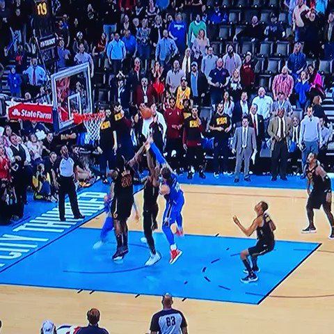 J.R. Smith with the game-sealing full-court DIME PASS �� what the hell did i just type https://t.co/Lo8F954Gpi