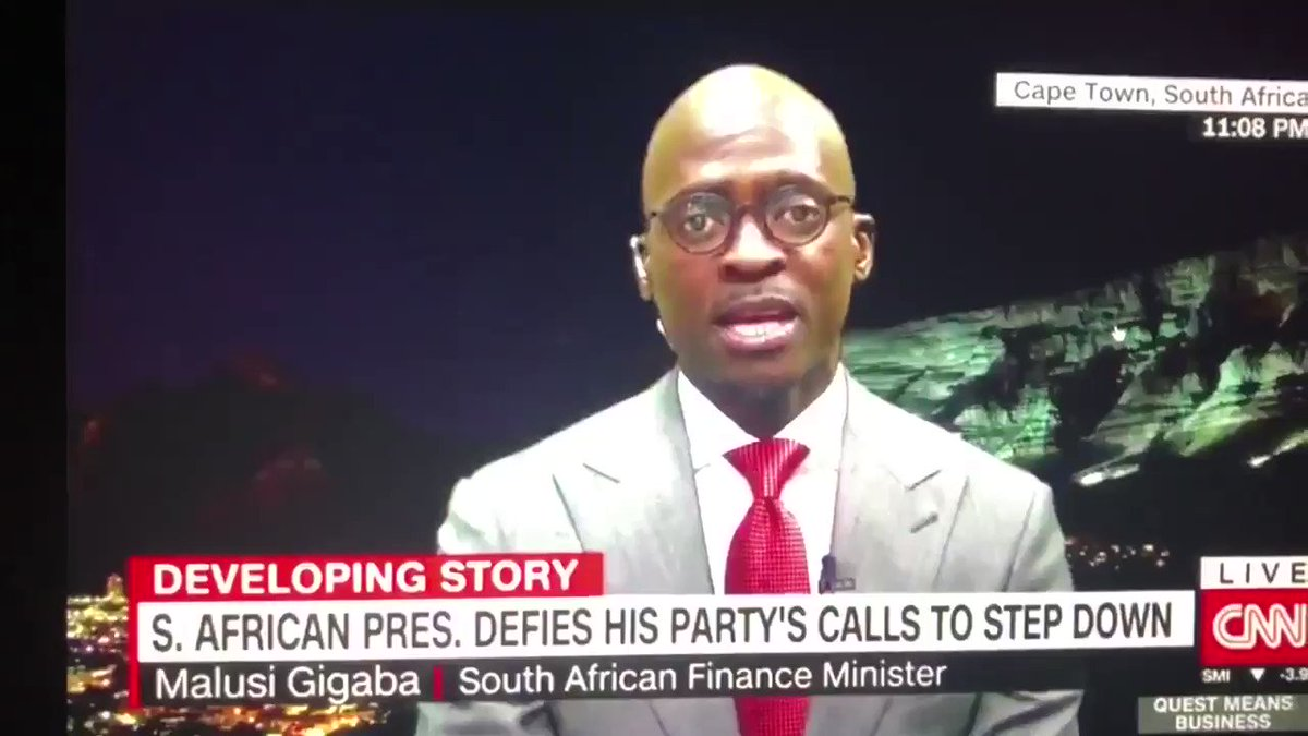 This is the kind of hypocrisy I hate! Gigaba is now saving his skin and obviously doing everything to endear himself to #Ramaphosa faction! But he helped the #Guptas & removed skilled & experienced people in SOEs, replaced them with Gupta stooges! Now he acts as a statesman,Sies!