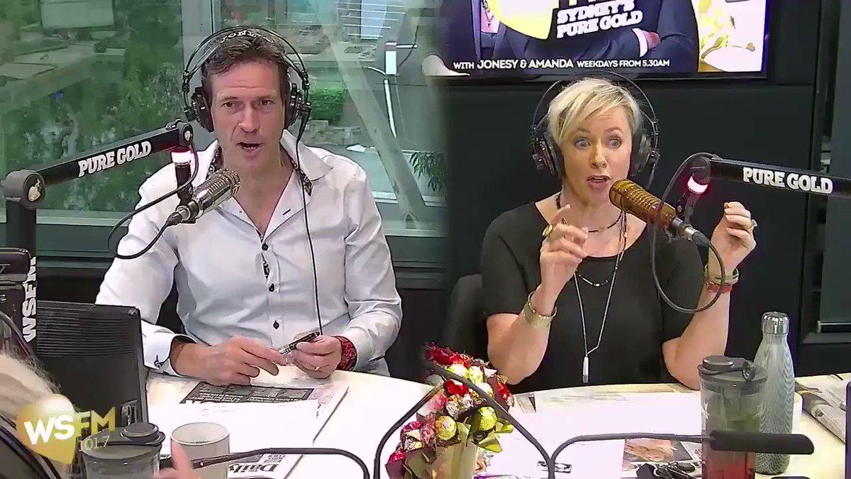 Amanda thinks Jonesy is in the dog house...