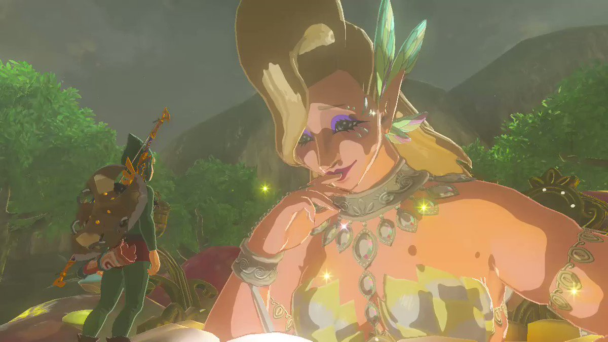 Happy Valentine's Day 😘 #Zelda #BreathoftheWild