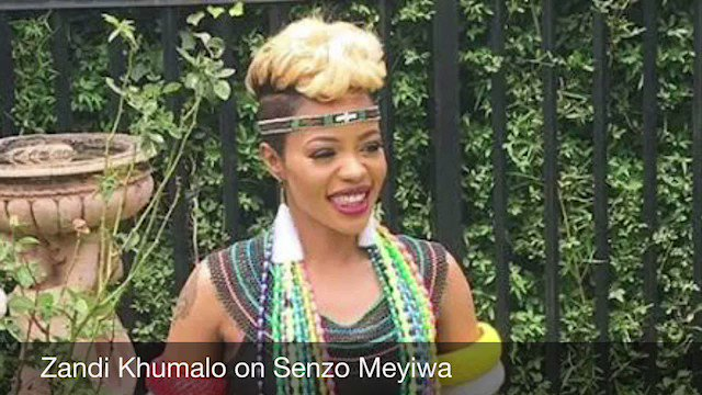 Zandi Khumalo on What happened the night...