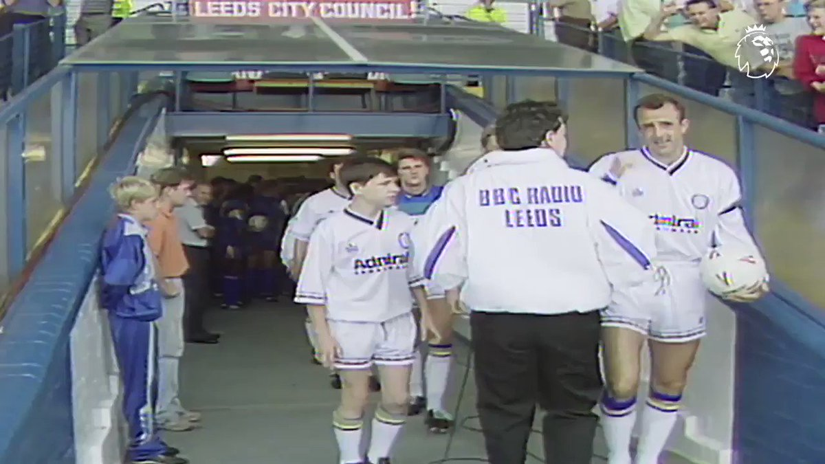 #ThrowbackThursday to the opening day of the first #PL season  Take it away, Leeds United...  #PLMoment @LUFC