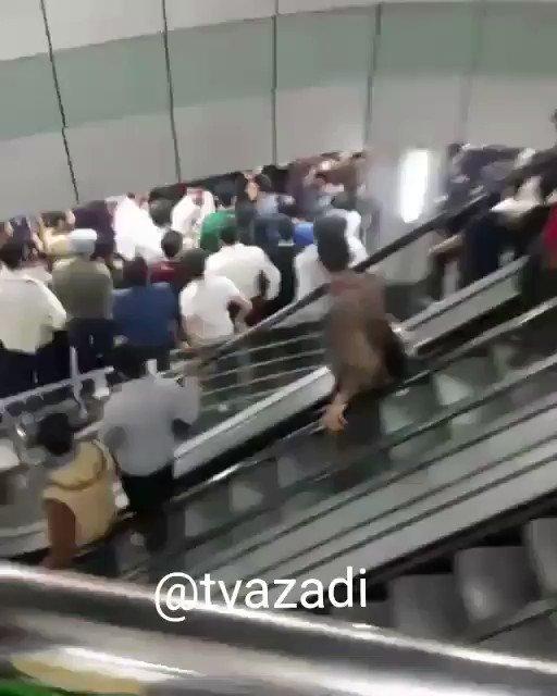 #إيران : اشتباكات في مجمع رويال التجاري...