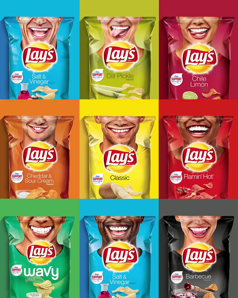 "LAY'S on Twitter: ""We're on a mission to help spread as ..."