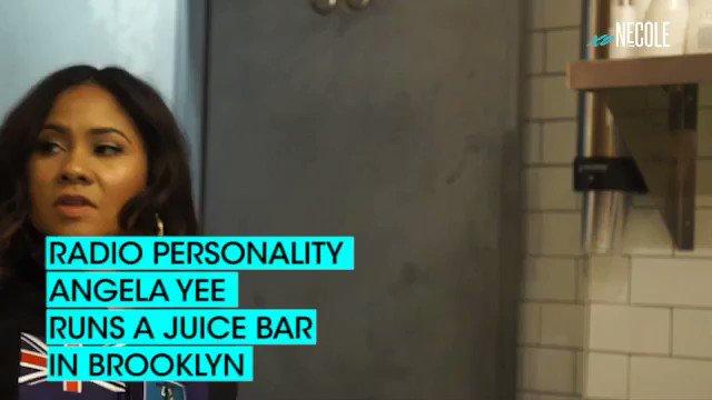 .@angelayee opened a juice bar in Brookl...