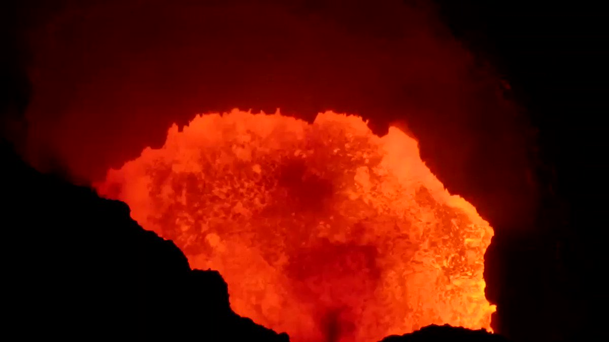 Image for the Tweet beginning: @UNRESPproject Masaya #lava lake deserves