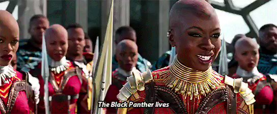 The kingdom has come. #BlackPanther is i...