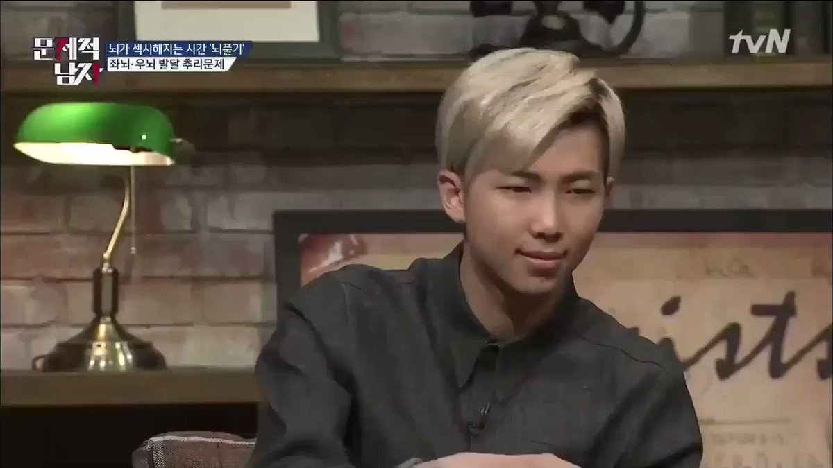 namjoon's intelligence is one of the mos...