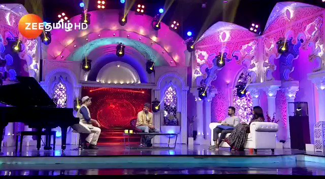 Catch this crazy stuff this Sunday with @anilsrinivasan @madhankarky in #SundaysWithAnilAndKarky @ZeeTamil this was totally fun. Hope u all will like it 😀